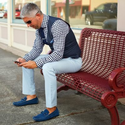 My Style with Blue & Black Checks – Seattle Men's Fashion Blog