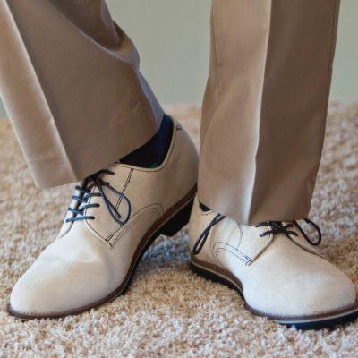 Bone Suede Oxfords by GH Bass & Co. – Seattle Men's Fashion Blog