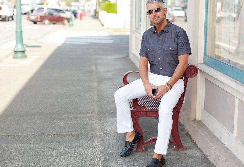 My Style, White Chino's – Seattle Men's Fashion Blog