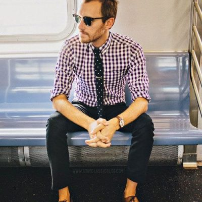 Mixing Patterns – How to Wear Pattern Shirts With Pattern Ties