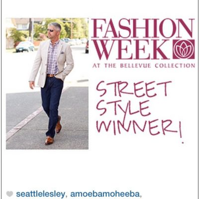 40 Over Fashion is a Bellevue Collection Street Style Winner!!