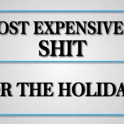 GQ's Most Expensivest Shit Holiday Gift Guide – Video