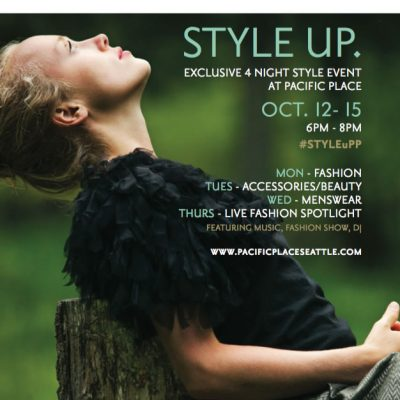 Style Up at Aveda's Mens Event