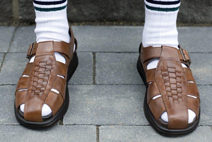 Stop Wearing White Socks!