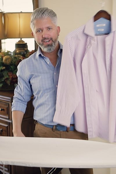 How to iron quickly, how to iron your shirts, style over 40, Style, menswear, mens fashion, fashion, silver fox, fashion blogger, menswear blogger, style over 40, men style, style over 40 blog, mens style, silver hair, style blogger, men with style, 40 over fashion, over 40 fashion, guys with style, 40 over fashion blog, ageless, style for men, fashion over 40, men's look, fashion for men, men's outfit, men's clothing, man blog, men's lifestyle, vlogger, men's lifestyle blog, men's outfits, lifestyle for men, man blog, how to dress in your 40's, style for guys in their 40's
