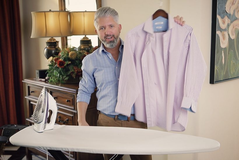 How to Iron Your Shirt Fast – Style Over 40