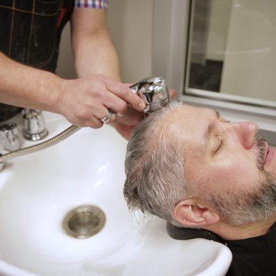 Gray Blending Men's Hair