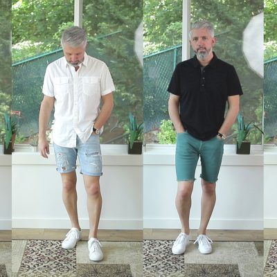 How I Wear Shorts – Outfit Inspiration