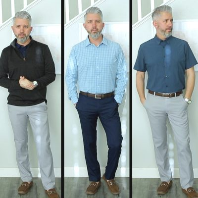 Mizzen And Main Men's Try On