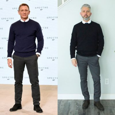 How To Dress Like Daniel Craig