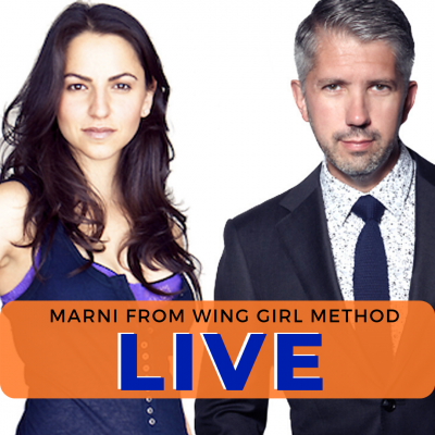 Dating Over 40 – LIVE With Marni from Wing Girl Method